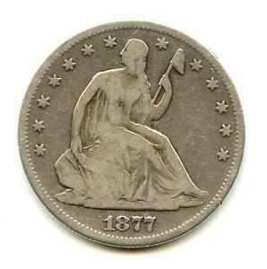 1877-S Liberty Seated Half Dollar