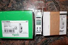 INTERRUPTEUR HORAIRE, HORLOGE, CCT15854 SCHNEIDER ELECTRIC MERLIN GERIN 16A 220V
