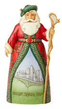 Enesco Jim Shore Heartwood Creek Irish Santa Nib # 6004237