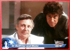 Terry Nation's BLAKE'S 7 - Card #40 - Dr Bellfriar and Blake - Unstoppable Cards