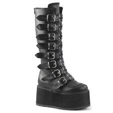 Demonia Gothic Platform  Women's Boots Damned-318  Cyber Goth Punk Vegan Gogo