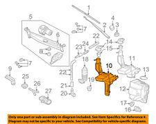 VW VOLKSWAGEN OEM CC Wiper Washer-Windshield Fluid-Reservoir Tank 3C8955453C