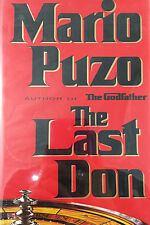 THE LAST DON BY MARIO PUZO *INSCRIBED*FIRST EDITION*