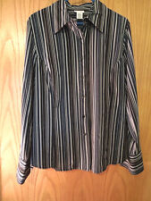 east 5th LONG SLEEVE BLOUSE SIZE LARGE - IN EXCELLENT CONDITION