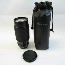 RMC Tokina Camera Lens 70-210mm 1:3.5 with Caps and Leather Case, Made in Japan