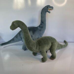 Gund Dinosaurs Diplodocus & Apatosaurus Plush Dinosaur Stuffed Animal Vintage