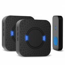 LWD Waterproof Wireless Doorbell,Plug-in Cordless Door Chime