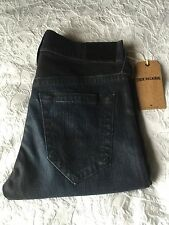 True Religion Jeans ROCCO SLIM Two Tone Moto Size 32 MSRP $298
