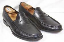 Ralph Lauren Purple Label Men's Black Chalmers Calfskin Penny Loafer Dress Shoes