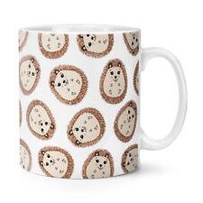Hedgehog Pattern 10oz Mug Cup - Funny Animal Cute Pet Crazy Hedgehog Lady Man