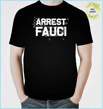 Arrest Fauci Patriotic Defund Dr Fauci  Personalized Gift Custom Unisex Tshirt