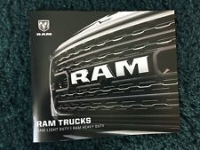 2020 DODGE RAM BROCHURE1500 2500 3500 FULL LINE NEW AND COOL