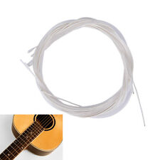 6X 1M Guitar Strings Nylon Silver Plating Set Super Light for Acoustic Guitar ME