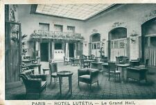 Carte PARIS Hôtel Lutétia Le Grand Hall