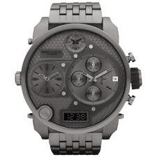 DIESEL Mr Daddy DZ7247 Grey Dial Gunmetal 4 Times Men's Chronograph Watch