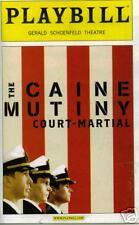 CAINE MUTINY BROADWAY PLAYBILL - DAVID SCHWIMMER