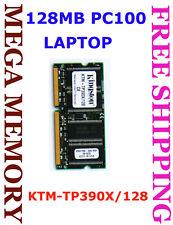 KINGSTON 128MB PC100 SDRAM 144-pins Laptop Memory Ram KTM-TP390X/128 @ Sydney