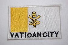 Ecusson brodé patch thermocollant Drapeau VATICAN - VATICAN CITY