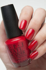 OPI Gwen Holiday ~CINNAMON SWEET~ Deep Warm Red Creme Nail Polish Lacquer HRF08