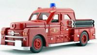 Tomki 1951 1/43 Fire Rescue Department Seagrave Pumper Turbo Chief Diecast Car