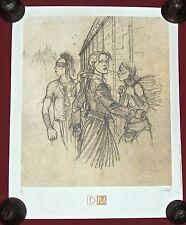 JUILLARD. Plume aux Vents. Ariane. Sérigraphie Maghen 40 x 50 cm. HC signée