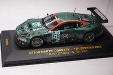 IXO ASTON MARTIN DBR9 #58 SEBRING 2005 1:43
