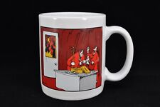 Farside Mug: (Hell) Suggestion Box; Gary Larson 1991
