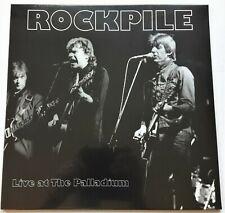 Rockpile - Live At The Palladium LP 2018 UK Press Vogon Red Vinyl Mint SEALED