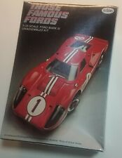 Original Testors Ford Gt Mark IV factory sealed model kit