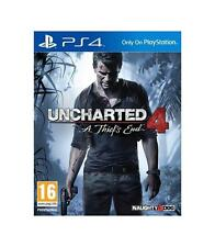 "Juego Sony PS4 ""uncharted 4 Standar Edition"""