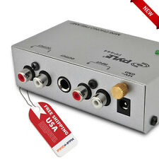 PYLE-PRO Ultra Compact Phono Turntable Preamp Line Level Stereo Preamplifier NEW