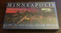 "Minneapolis Puzzle Glow in the Dark 500 Pieces 12"" x 36"" New NIB NOS"