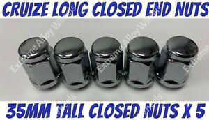Alloy Wheel Nuts 35mm Tall x 5 M12x1.5 Honda Odyssey Prelude S2000 Shuttle