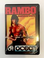 Rambo First Blood Part II Ocean Game Commodore 64 1985