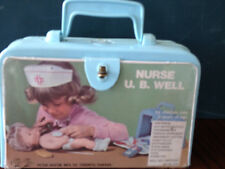 Vintage 1960s Canadian U.B. Well Nurse Kit with Some Accessories