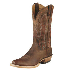 Ariat Men's Hotwire Western Cowboy Boots, Weathered Brown Style: 10008812 10.5 D
