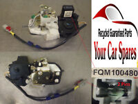 Rover 45 Central Locking Motor Driver Side Rear 5dr Hatchback  FQM100480