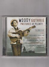 WOODY GUTHRIE  =  {CD - 26 TRACKS}  =  PASTURES OF PLENTY  =