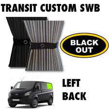 Black Out-tránsito Custom Van Cortina Kit-izquierda posterior Swb Cortinas