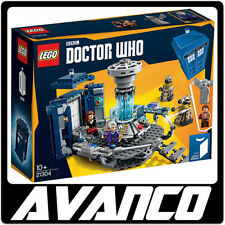 LEGO Ideas Doctor Who 21304 Dr Tardis Police Box Sonic Screwdriver NEW RETIRED