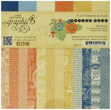 Graphic 45 WORLD'S FAIR 6 x 6 Paper Pad 36 pg, NEW