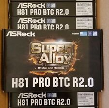 ASRock H81 PRO BTC R2.0 Motherboard 1150 INTEL H81 DDR3 Bitcoin Ethereum Mining