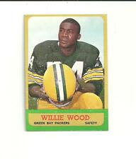 1963 Topps #95 Willie Wood Rookie Card