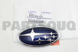 93013FE131 Genuine Subaru ORNAMENT F       SIX 93013-FE131