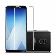 Round Edge Tempered Glass Film Screen Protector Cover Saver for Samsung A8 2018