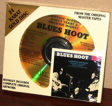 DCC GZS 1081 GOLD CD: LIGHTNIN' HOPKINS, etc. - Blues Hoot - OOP 1995 USA SEALED