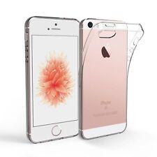 Custodia Cover Case ultra slim per Apple Iphone 5 5S SE in silicone trasparente