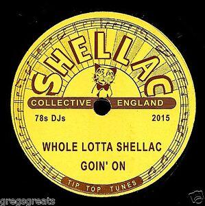 2015 Shellac Collective CD Whole Lotta Shellac Goin Sur 27 Grand 78rpm Records