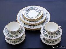 20 Piece Set ~ ROYAL WORCESTER bone china LAVINIA pattern 4 X 5 Piece Settings