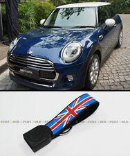2014-2016 MINI COOPER S F56 BLUE RED UNION JACK FLAG KEY FOB CHAIN RING STRAP